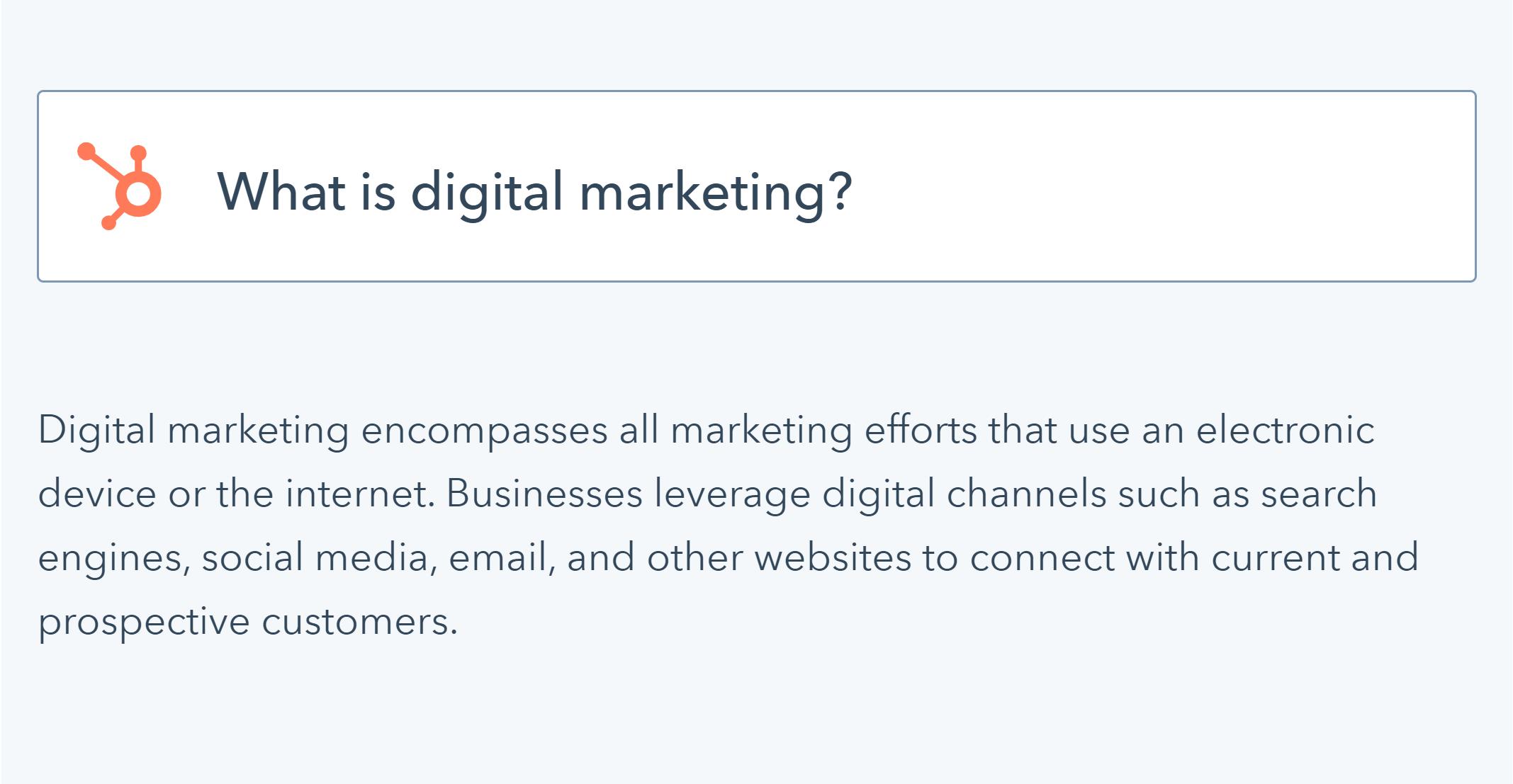 دیجیتال مارکتینگ | hobspot