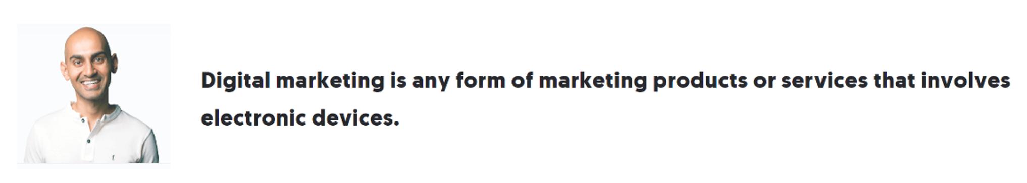 دیجیتال مارکتینگ | نیل پتل